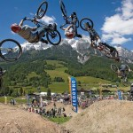Der Bikepark Leogang ist nur etwas fr hartgesottene Burschen. - Foto: Leoganger Bergbahnen