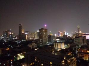 Blick auf Bangkok.