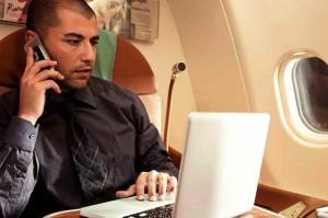 Internet an Bord; Foto Oman Air