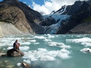 Traumhafte Gletscherseen. Foto: Nora von Breitenbach