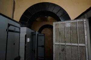 """Das """"Old-Fort""""-Gefängnis in Johannesburg."""