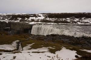 Dettifoss-Wasserfall.