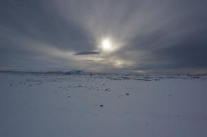 Winterstimmung in Nordisland.