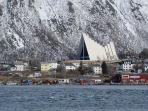 Die Eismeerkathedrale von Tromsø.