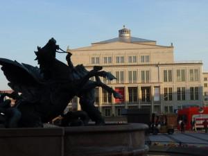 Das Konzertgebäude Gewandhaus ist seit 1781 Heimstätte des Gewandhausorchesters.
