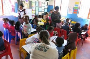 Freiwilligenarbeit im Urlaub kann sehr erfüllend sein. Foto: Travel to Grow