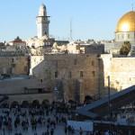 Auf dem Tempelberg in Jerusalem.