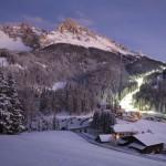 Dreimal in der Woche heißt es in Obereggen: Flutlicht an! – Foto: Paolo Codeluppi