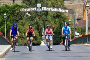 Am 2. August heißt es wieder: Freie Fahrt für Radfahrer und Inlineskater. - Foto: Tourismusverband Liebliches Taubertal / Peter Frischmuth