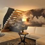 """Die Suite """"La Nuvola"""" erstreckt sich über zwei Etagen und eignet sich bestens für einen Urlaub wie auf Wolke sieben."""