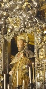 Figur des hl. Jakobus.