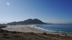 Leere Strände an der Costa del Muerte.