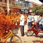 Der Zentralmarkt in Battambang.