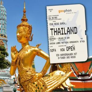 Das Thailand-Reisehörbuch von geophon. Foto: geophon