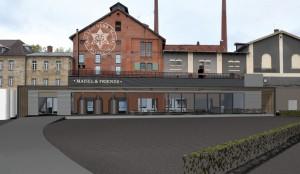 """Die neue """"Bier-Erlebnis-Welt"""" öffnet am 5. März 2016, und wird in ihrer Gesamtheit in Deutschland einzigartig sein. - Foto: Brauerei Gebr. Maisel"""
