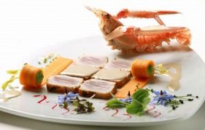"""Die Speisekarte überzeugt mit extravaganten Gerichten. - Foto: Logis-Hotel Landhaus """"Am Hirschhorn"""" Wilgartswiesen"""