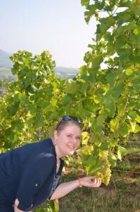 """Nadine Ulses, die Tochter des Hauses, ist seit 2013 Sommelière und kennt alle Trauben und Weine aus dem """"effeff"""". - Foto: Medienkontor/Franziska Märtig"""
