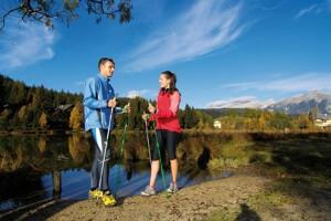 Seefeld ist bei Sportlern beliebt - nicht nur bei Nordic Walkern. Foto: Olympiaregion Seefeld