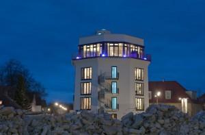 Das Hotel im Bunker - beim Umbau wurde viel Wert darauf gelegt, Verbindung zwischen Vergangenheit und Gegenwart herzustellen.