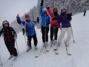 Der Spaß auf der Piste darf natürlich nicht fehlen, und er fehlt garantiert nicht. - Foto: Skischule Berwang