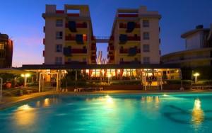 Das Hotel Orient & Pacific in Jesolo. Foto: Hotel Orient & Pacific