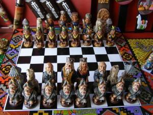 Schachfiguren einmal anders.
