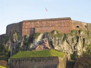 Der Löwe von Belfort. Foto: Belfort Tourisme