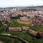 Die Zitadelle von Belfort aus der Luft. Foto: Jean Becker