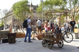 Trödelmarkt von Belfort. Foto: Philippe Martin