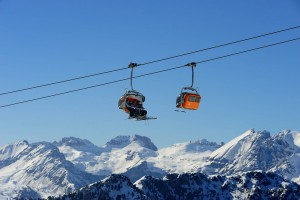 Hoch hinaus geht es im Skigebiet Alpe Lusia – San Pellegrini. - Skiarea Alpe Lusia