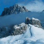 Der Naturpark Sextner Dolomiten (Drei Zinnen), hier der Schwabenalpenkopf - ist auf die Gemeinden Innichen, Toblach und Sexten verteilt. - Foto: NP Drei Zinnen