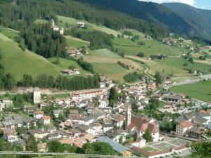 Sarthein ist der Hauptort des Sarntals.