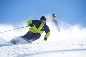 130 Pistenkilometer warten im Skigebiet Oberstdorf-Kleinwalsertal. Foto: Salomon