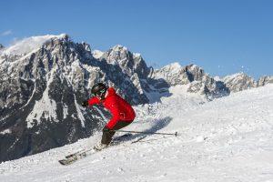 Skispaß pur – am Wilden Kaiser kommt keine Langeweile auf. - Foto: Ferienregion Wilder Kaiser