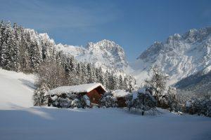 Eine Winterstimmung wie sie schöner nicht sein könnte. - Foto: Ferienregion Wilder Kaiser