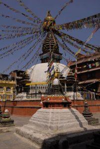 Stupa in Nepal. Foto: Gebeco