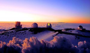 Mauna Kea Observatorium Hawaii. Foto: Wikimedia