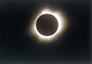 Totale Sonnenfinsternis 11. Juli 1991 Hawaii. Foto: Christian Wolter