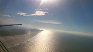 Außer Spiekeroog haben alle ostfriesischen Inseln einen Flughafen und können vom Festland angeflogen werden. - Foto: Birte Kreiz