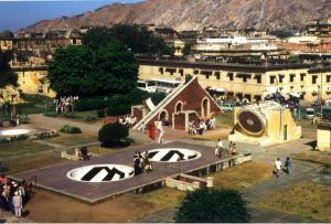 Jantar-Mantar Observatotrium in Jaipur. Foto: Christian Wolter
