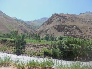 Blick auf Afghanista.