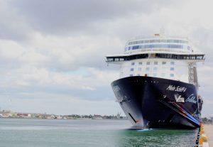 Die Mein Schiff 4 im Hafen von Kopenhagen (Bild: Oliver Richter)