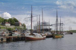 Die Mein Schiff 4 im Hafen von Oslo (Bild: Oliver Richter)