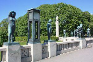 Bronzeskulpturen im Vigelandspark (Bild: Oliver Richter)