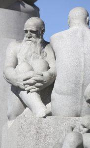 Granitskulptur im Vigelandspark (Bild: Oliver Richter)