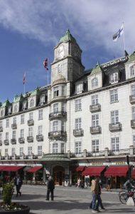 """Das Grand Hotel in Oslos Prachstraße """"Karl Johans gate"""" (Bild: Oliver Richter)"""