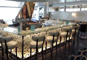 Die Diamant-Bar auf Deck 5 (Bild: Oliver Richter)