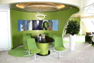 Die Café Lounge im Diamant (Bild: Oliver Richter)