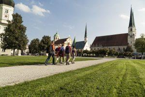 Das Ziel der Bierwallfahrt: - Altötting. - Foto: Inn-Salzach-Tourismus