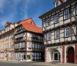 Mühhausen: Der Untermarkt gehört zu den besonders schönen und gut erhaltenen Plätzen in der Altstadt thüringischen Kreisstadt. – Foto: Tino Sieland